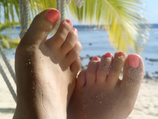 beach time for the toes