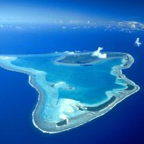 Aitutaki from above