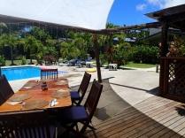 Aqua cafe and pool