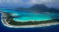 Bora Bora from the plane