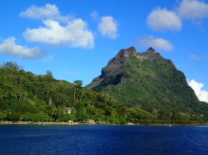 Bora Bora farewell view