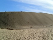 This is the dune you race down!