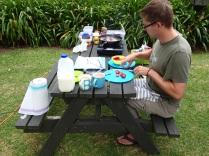 Yummy camping breakfast :-)