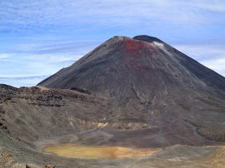 Looking back across South Crater at Mount Doom