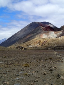 This mountain seems to be following us! Mount Doom across Central Crater