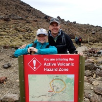 Yes, it really is an active volcano. Reminder for all those who have missed the subtle hints during the last 4 hours hike