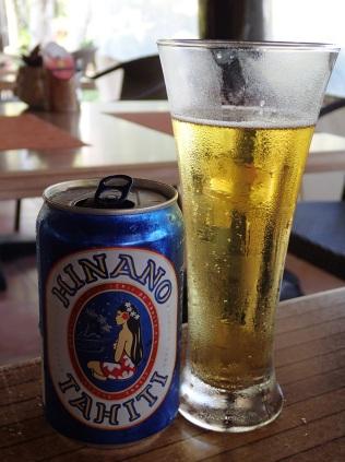 yummy Tahiti Hinano beer