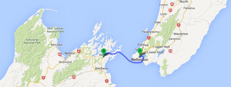 Wellington To The South Island Ferry