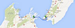 ferry trip Wellington to Picton
