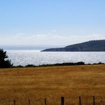 … across the lake ...