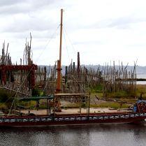 Maori boat