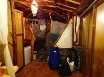 our hobbit house from the inside
