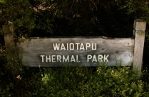 Waiotapu thermal park
