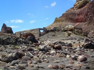 White Island sulphur mine