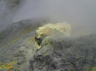 White Island sulphur vent