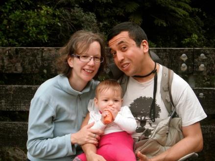 Birgit, Sophia and Cristian