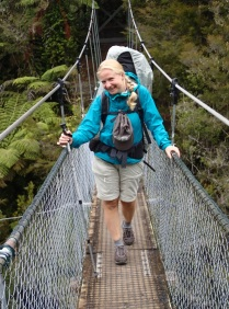 Yay! Another swing bridge!