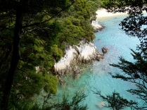 turquoise blue cove