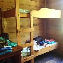 What luxury! We had our own bunk room :-)