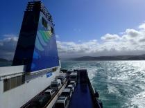 Interislander at sea