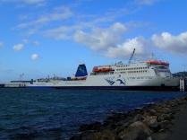 Interislander in Wellington