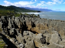 Punakaiki pancake rocks … I don't want to boast, but my pancakes look way more yummy than that!