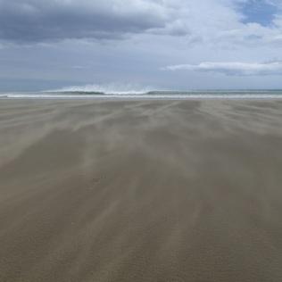 Very very VERY windy stretch of beach!