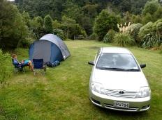 Waoihine gorge camp ground