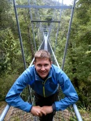 """A swing bridge … cool"""