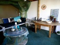 Spa area lounge room