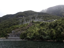 Manapouri hydro power station