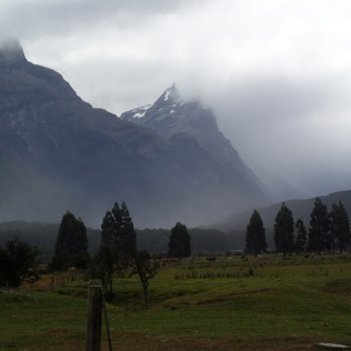 … Glenorchy in the rain. Now we know why they were called the Misty Mountains in Lord of the Rings