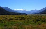 Aoraki alpine reserve from the distance