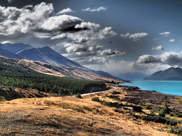 Lake Pukaki (dramatic filter)