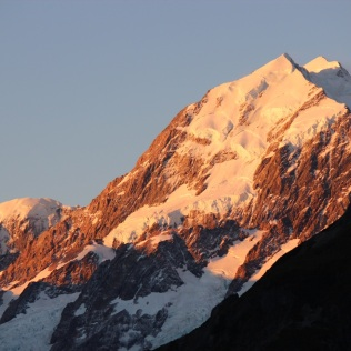 Mt Cook sunset