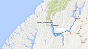Queenstown - Glenorchy route