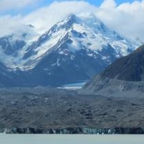 Tasman Glacier face