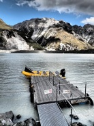 this would have been our boat for the glacier explorer tour