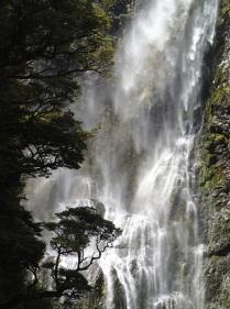 Arthur's Pass waterfalls