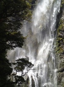 Arthur's Pass waterfalls