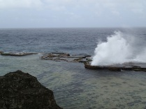 Mapu a Vaea blowholes