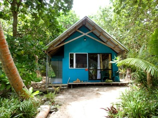 Our Maui Fale … a fale is the Tongan name for a simple hut like this.