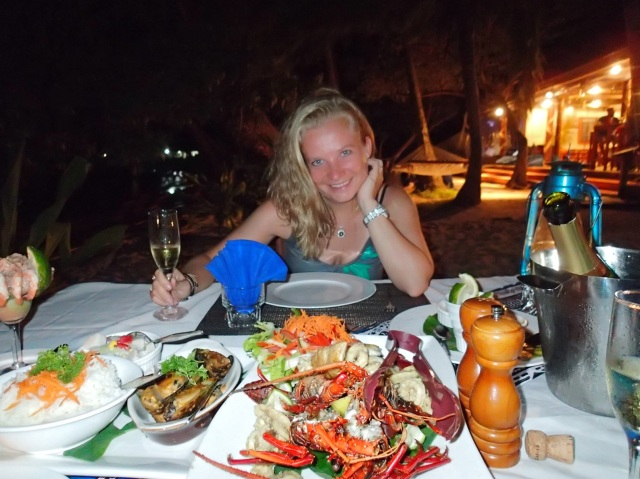 Lobster dinner for two