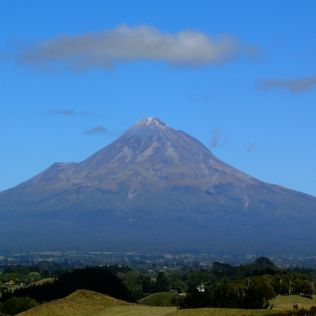 farewell from 'the mountain' … no bloody cloud that morning! Grrr!