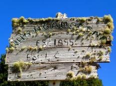 Whangamomona old city sign