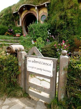 NO ADMITTANCE … except on party business