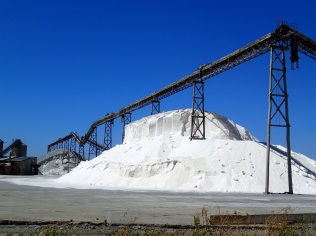 Lake Grassmere salt factory