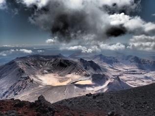 dramatic panorama view