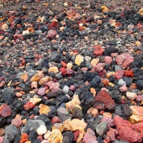 Look! German coloured gravel :-)