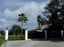 Royal residence entrance gate